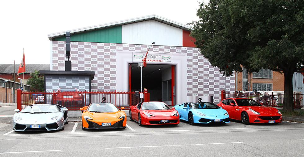 Luxury Car Hire Bologna